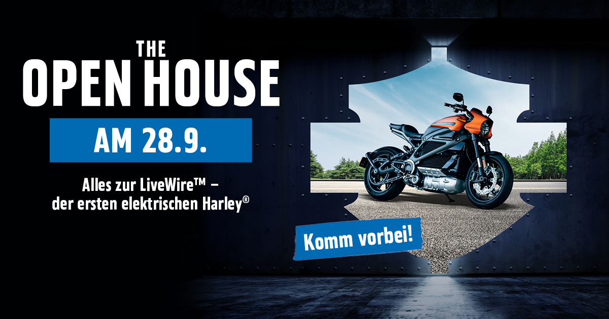 Open House Harley-Davidson Hamburg Nord Motorrad LiveWire